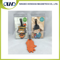 Wholesale low price high quality custom pvc luggage tag