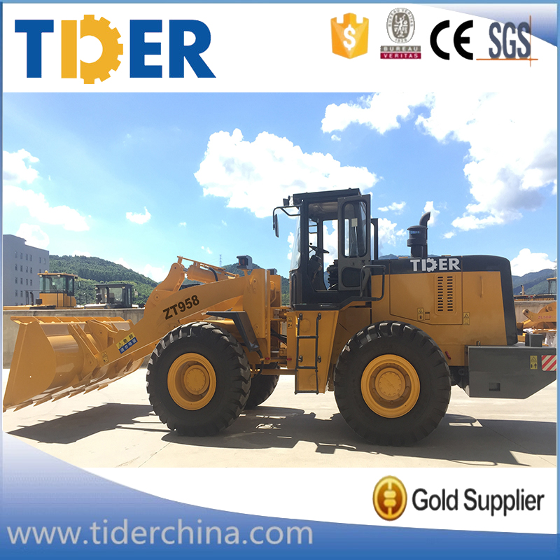 China mini loader equipment 2 ton - 5 ton wheel loader for sale