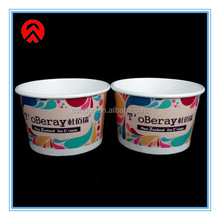 disposable ice cream paper cup with lids