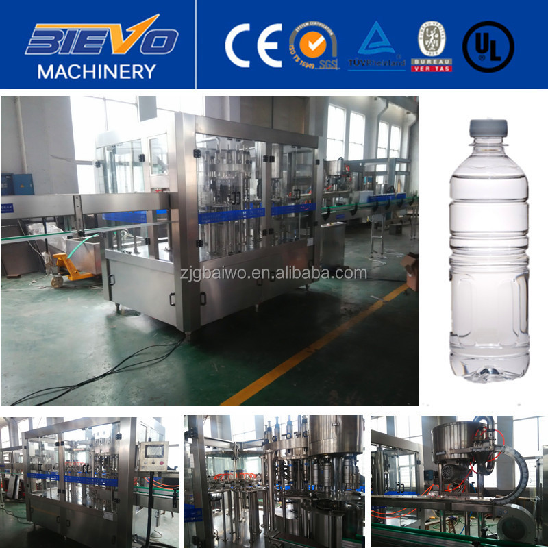 high quality automatic mineral/pure water making machine/plant