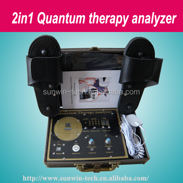 Bio quantum system/quantum resonance magnetic analyzer for foot