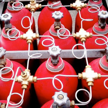 New gas cylinder racks with manifold of professional gas cylinder bundles manufacturer