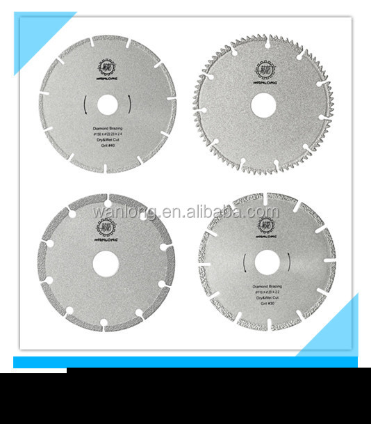 diamond tools of dry cutter with good cutting result 10 inch diamond blade