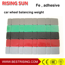 Tyre repair used automotive wheel weights