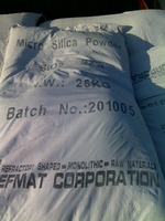 Densifeid silica fume use in building, construction