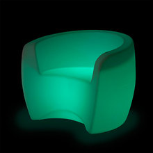 Illuminated Waterproof LED Bar Furniture Bar Chairs For Night Club Bar Party