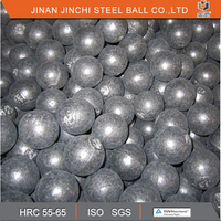 Cast iron grinding ball in cement plant