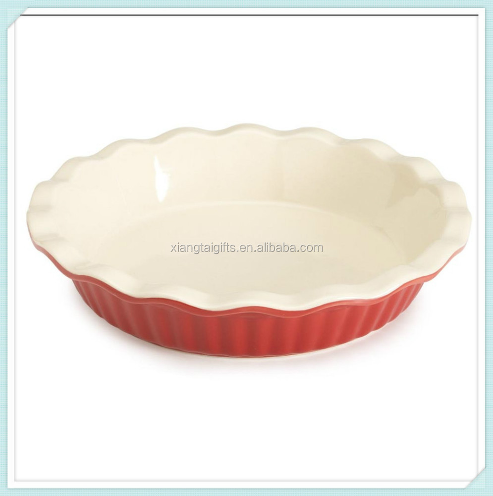 Ceramic pie plate wholesale