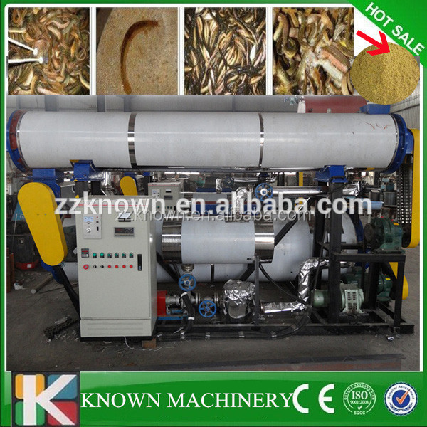 fish flour plant fish waste processing machine/compact fishmeal plant