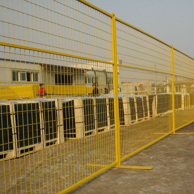 Orange Temporary Fencing