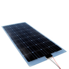 thin film semi flexible solar panel 100 watt flexible solar panel 100watt 12v