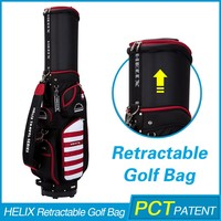 HELIX New Design golf bag shoulder strap with rain cover