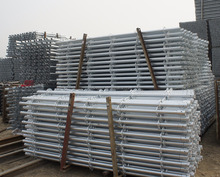 China Factory Direct Selling Hot Dipped Galvanized Ringlock Steel Scaffold Fram/Ringlock Scaffolding System