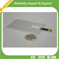 File loading Brand Chip Metal Name Card USB Flash Drive 3.0