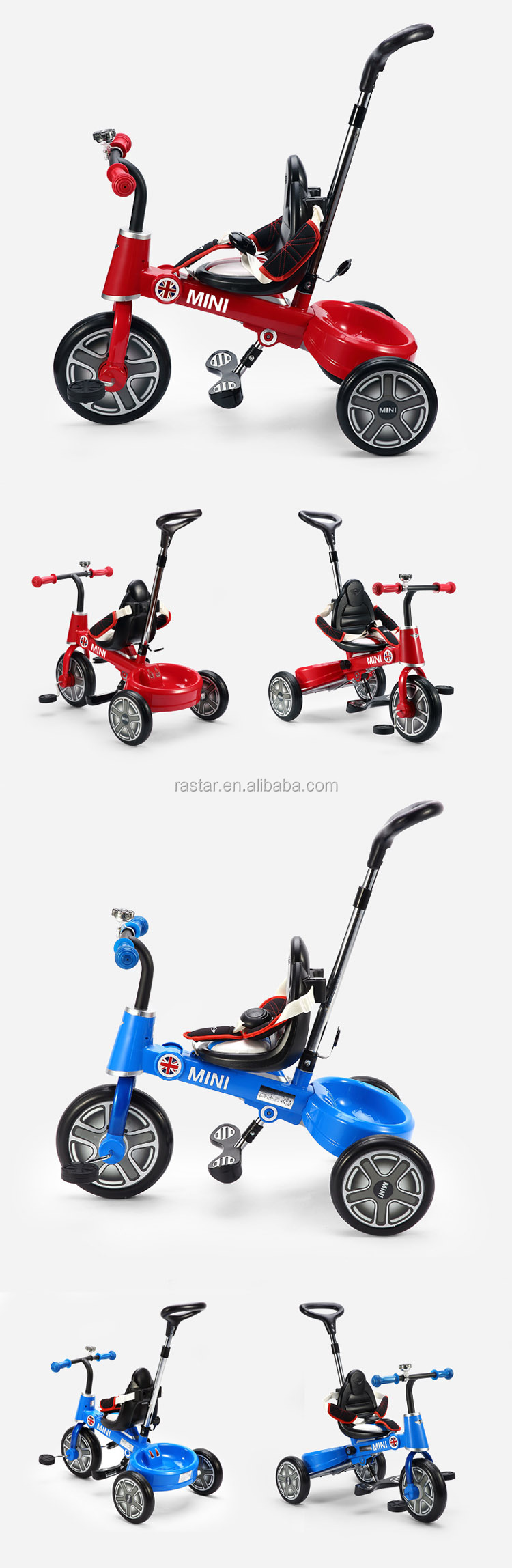 RASTAR new products kids training walker tricycle bike children bicycle