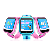 2017 Q750 Baby Watch with Wifi Located 1.54inch Touch Screen SOS Call Location Tracker GPS Smart Watch for Kid