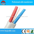 Alibaba china 2x1.5+E flat cable 2 cores cable +Earth