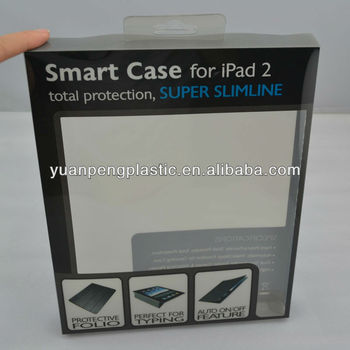 clear plastic case for iPad , highquality fashion design plastic box for ipad 2