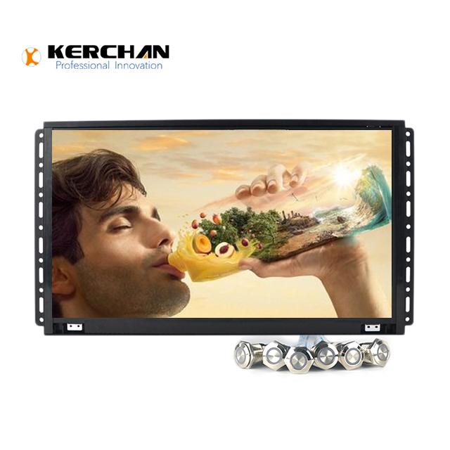 15 inch full hd field small lcd monitor  Support 1080P multi-format HD video play