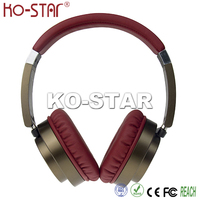 New Stylish 2016 Fashionable Factory Cheap Price Wireless Noise Cancelling Headphones for MP3 Player and Mobile
