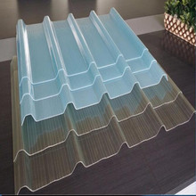 Transparent FRP Roof Sheet/ clear polycarbonate corrugated roofing panels