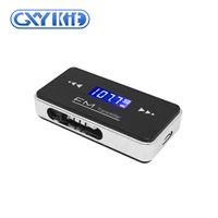 GXYKIT Wireless 3.5mm Jack BT Car Kit Handsfree FM Transmitter with USB Cable