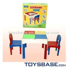 Full function funny building block learning desk