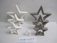 Star shaped ceramic adult christmas crafts