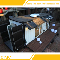 2016 Hot Sale Prefabricated House Container (20HQ, 40HQ)