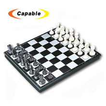 educational toy folding magnetic chess board game chess set