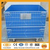factory supply galvanized stackable wire mesh cage