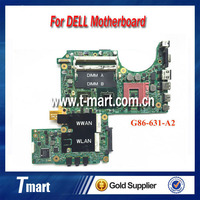 Original laptop motherboard for Dell XPS M1330 motherboard CN-0K984J G86-631-A2 Update Vedio card Fully tested