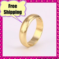 10564-Xuping Jewelry Fashion Simple Design Special Price Wedding Ring