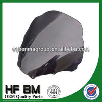 Top quality windshield motorcycle windscreen motorcycle, motorcycle spare parts OEM quality