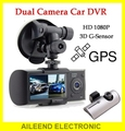 China user manual fhd 1080p car dual camera car dvr video recorder