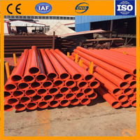China supplier.4.5mm thickness st52 Seamless steel pipe DN125 Concrete pump pipe.