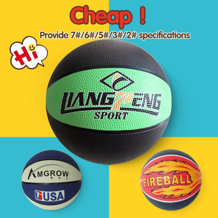 cheapest price Training mini basketball set,promotion rubber basketball