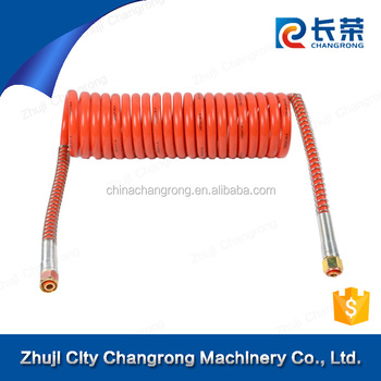 Nylon Air brake Hose PA12 suzi hose spring coil for trailer and truck