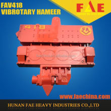 Unique Side Clamp hydraulic Vibratory Hammer/excavator mounted vibro hammer in pile driver FAV416L