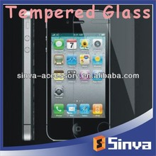 For iphone4 4S 0.2mm Tempered Glass Screen Protection Film, screen protector, screen protector for nokia asha 210