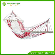 New arrival top quality steel stand cotton string hammock with workable price