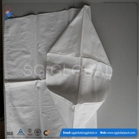 Plastic white 10kg 25kg used flour sacks sale