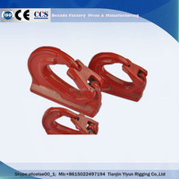 Chain Hardware Weldable Lifting Point Weld on Hooks for Hydraulic Excavator