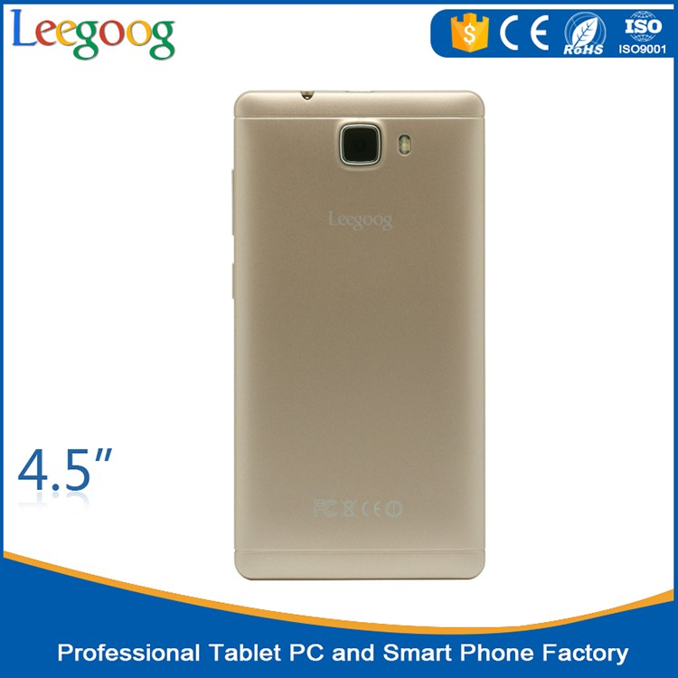 The latest 4.5 inch cheap 3G smart phone 2 sim card mobile phones oem mobile phone by customized