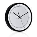 30cm fashion and simple office decorative plastic wall clock