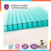 plastic building construction;plastic multiwall hollow sheet