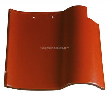 S type spanish porcelain roof tiles building material