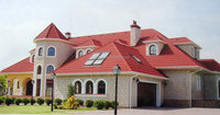 stone coated roof tile /stone coated steel roofing tile /stone coated metal roof tile