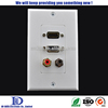 HDMI VGA Wall Plate with audio video adapter