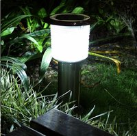 Pillar shape Garden soalr light led solar light soalr Bluetooth light